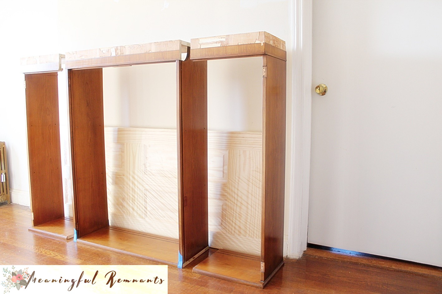 china cabinet cut sections
