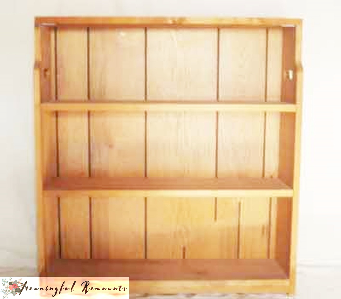 bookcase shelving before