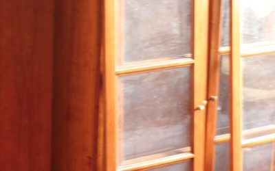 China Cabinet turned Bookcase- Part 1